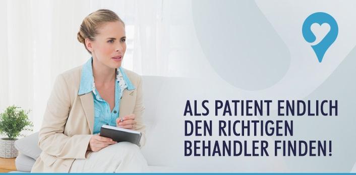 Den richtigen Behandler bei symptome.ch finden